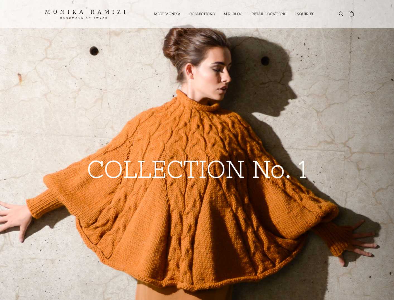 Monika Ramizi Website